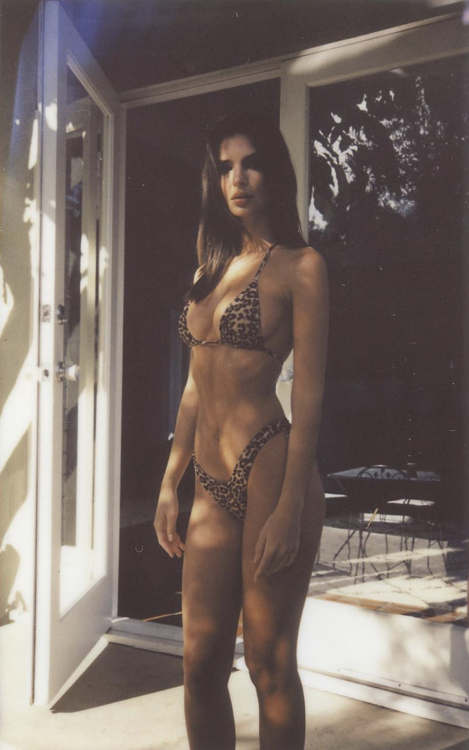 emily rajatkowski emrata ratajkowski style fashion womenswear women fashion bikini swimwear lropard leopard print model supermodel brunette babe hot legs photography fashion photography