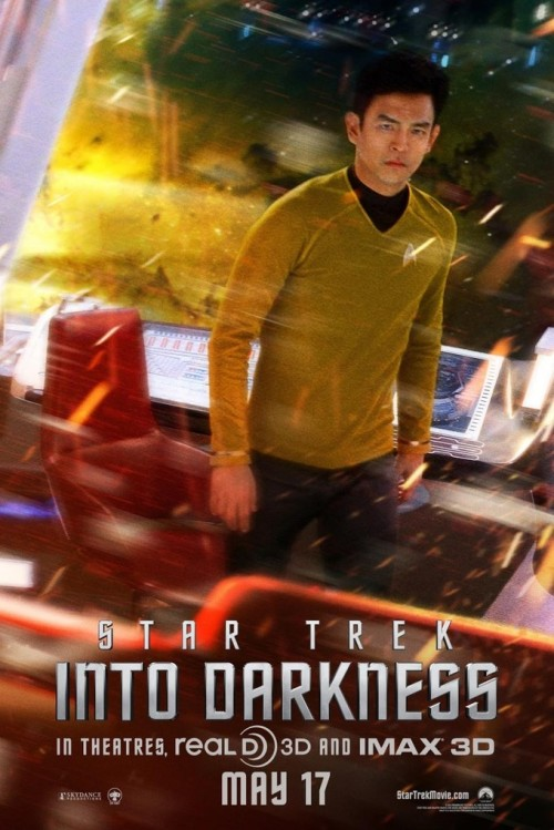 Poster for Star Trek into Darkness, directed by J.J. Abrams.