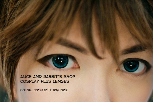 behindinfinity:  Alice and Rabbit's Shop has a new contact lens design! These are from the Cosplay Plus limited edition series. I wrote a detailed review on my blog — http://behindinfinity.deviantart.com/art/New-Cosplay-Contact-Lens-Review-image-heavy-359302627 I really like this new design! I also added comparisons with other A&R lenses. The colors on this set are: Golden, Turquoise, Grey, Blue, Violet …It's creepy to have 5 pairs of my own eyes staring back at me. Hahaha! Jin!