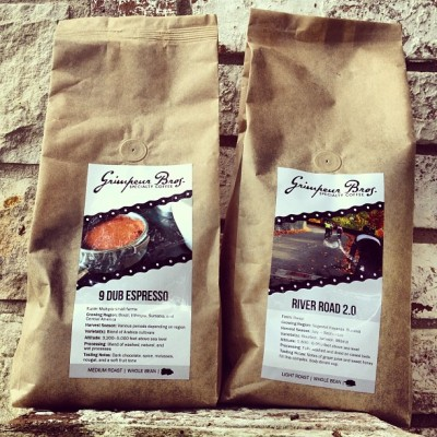 2 lb. #coffee bags are for sale NOW @ GrimpeurBros.com! We're excited to introduce our nü 2 lb bags that deliver great value #MoreBang4UrBuck! Plus our 2lb bags are #ecofriendly & compostable just like our 12oz bags! Check them out @ GrimpeurBros.com. #grimpeur #specialtycoffee  #coffeegeek #cycling #rideyourbike #drinkgreatcoffee