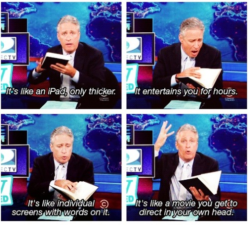 Jon Stewart is awesome (via Books)