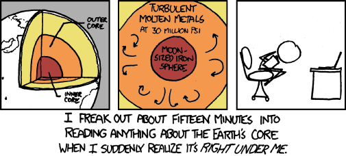 lady-bane:  This is me everyday in geology class. -xkcd 913
