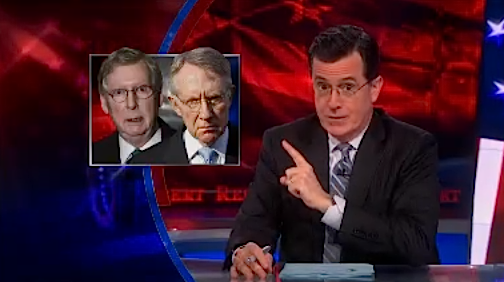 """Hard to believe. But, this… could get uglier."" - Stephen Colbert"