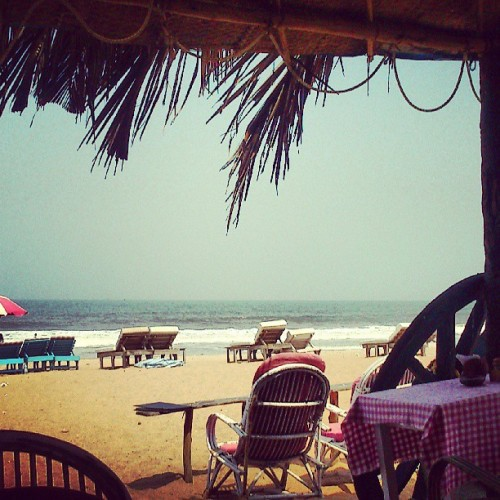 I no want to go home from this susegaad life! :( (at Calangute Beach)