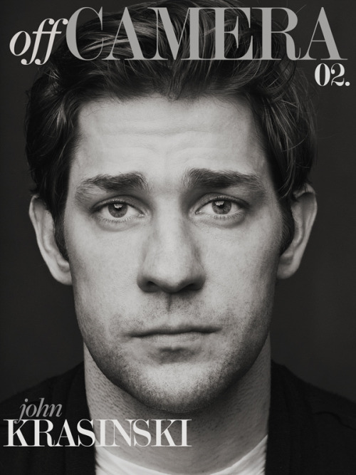 astldbymly:  This man. http://offcamera.com/issue-covers/#john-krasinski-the-off-camera-interview