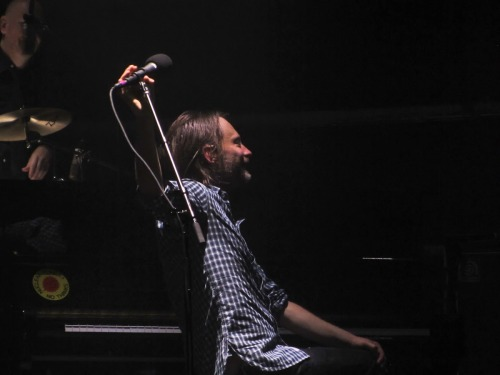 "thOm - Roseland Ballroom - ""Stick around, Clive."" From Mediocremusicblog."