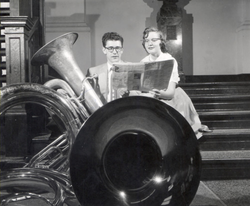 State Solo Ensemble Music Festival, May 14, 1955. Madison, Wisconsin. From: The University of Wisconsin Archives