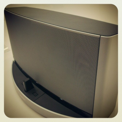 SoundDock X #bose #friend #work