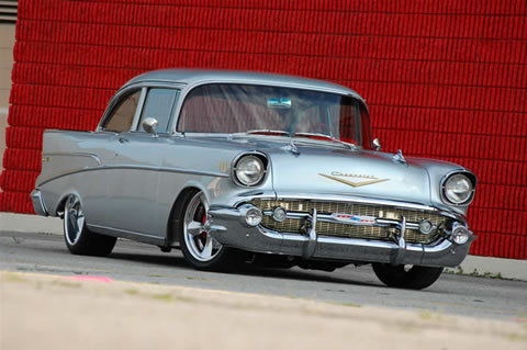57 Chevy, a classic look that will never be outdated.
