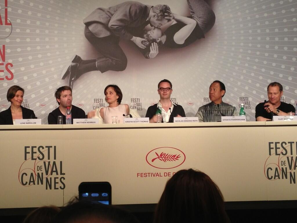 fuckyeahonlygodforgives:  Only God Forgives Press conference.
