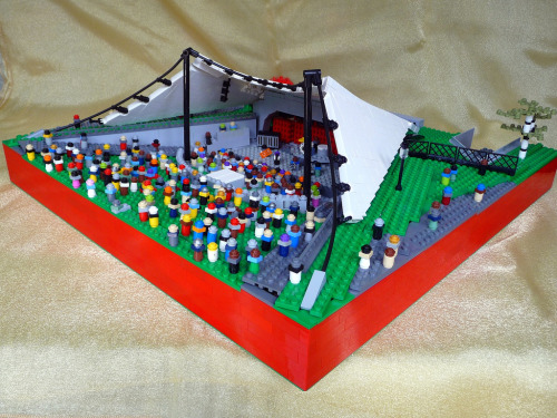 Sidney Myer Music Bowl (by akama1_lego)