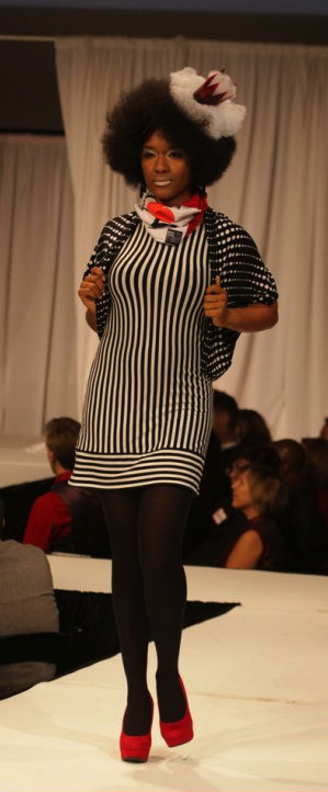 12/2012 Red Ball Charity Fashion Show Wardrobe Assistant Designer Mona Mona Lucero