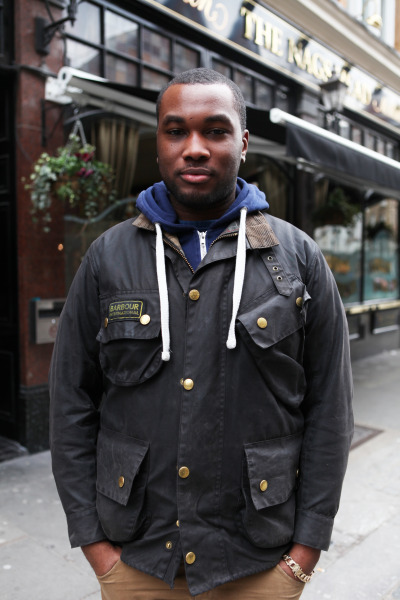 A Barbour International Besant inspired jacket