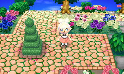 how to make a stone path acnl