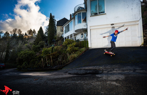 skatedistrict:  Alicia Fillback for PDX Downhill.