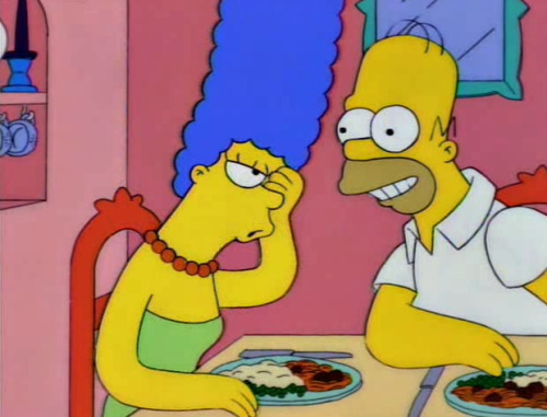 I'M A CHICKEN, MARGE!