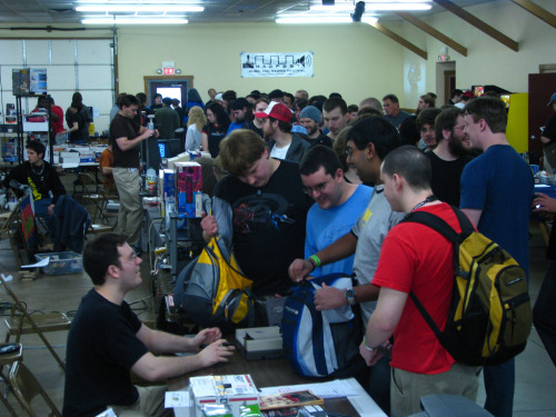 cinemassacreproductions:  TooManyGames Photo  Pictured: the interior of that tub of cottage cheese your sister left in the fridge over Christmas.  Read: Why I'm ashamed of wanting to pursue a career or interest in video games