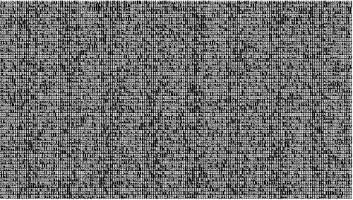 Ryoji Ikeda A Single Number That Has 124,761,600 Digits 2013