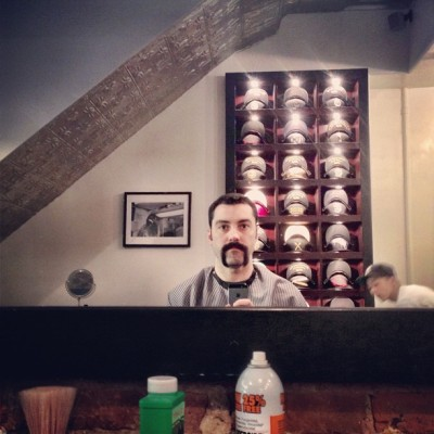 @morpheusmedia #stacheweek!  (at Frank's Chop Shop)