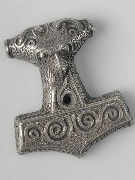 Mjölnir, Thor's mighty hammer. From the History Museum in Stockholm.