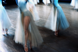 tillthenwatchout:  Balanchine's Serenade, as seen through the lens of Henry Leutwyler. His book has some of the best ballet photography I've ever seen.