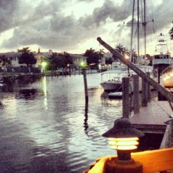 "Visited with a friend who lives on the canal.  Fort Lauderdale is known as the ""Venice of America"" for its extensive system of waterways, including the New River, Intracoastal Waterway and a large number of canals. Such a cool place."