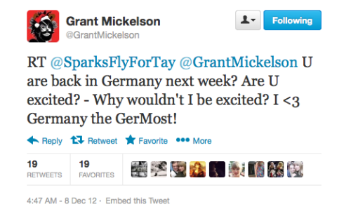 jencita:  Guess the Agency will be going to Germany Next week!