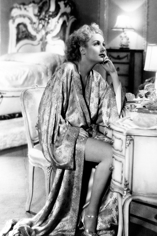 Carole Lombard in 'Twentieth Century'.Director: Howard Hawks, 1934.