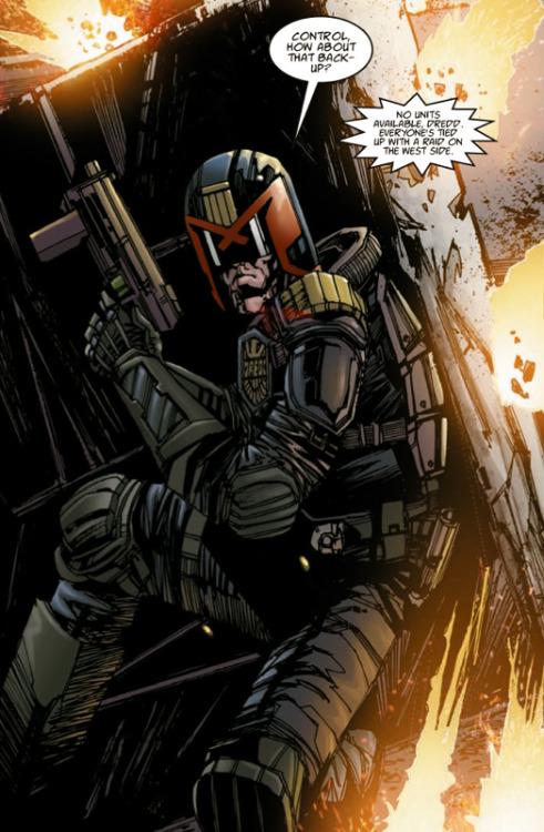rockofeternity:  Dredd — Henry Flint