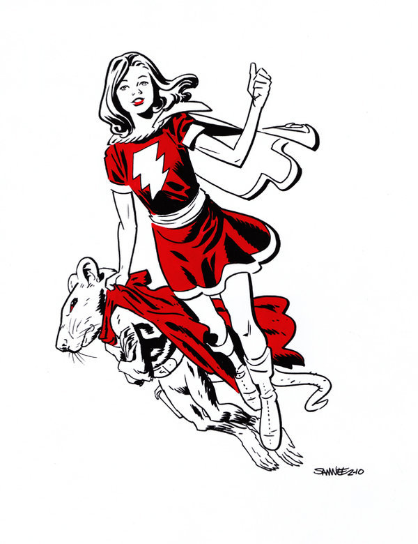 lulubonanza:  MARY MARVEL by ~ChrisSamnee  he did it again.
