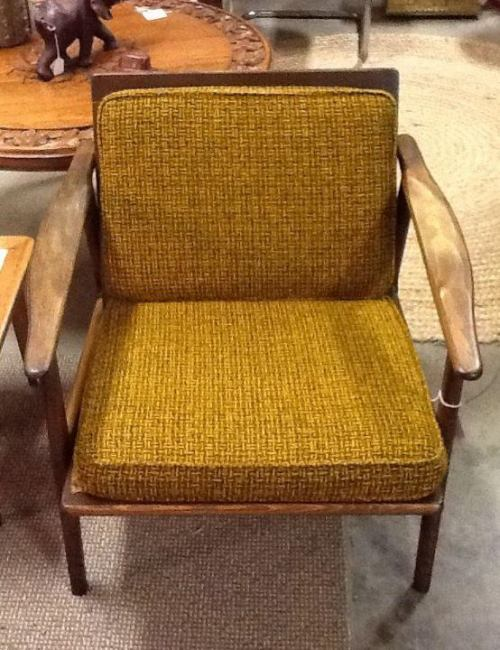 1960's Tweed Armchair $325.00 http://on.fb.me/12d6hrP