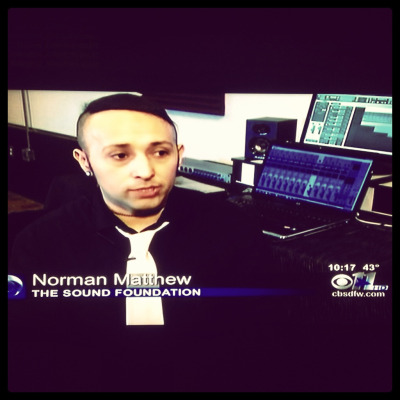 CBS 11 News feature on the opening of The Sound Foundation Artist Development Studio in Dallas,TX // www.thesoundfoundationdallas.com