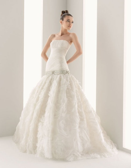 Lovely bridal gown