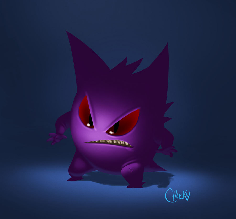 Gengar by Ricardo Chucky / Blog