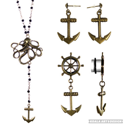 jamiekoala:  ALL OF THE ANCHOR JEWELRY!!!!