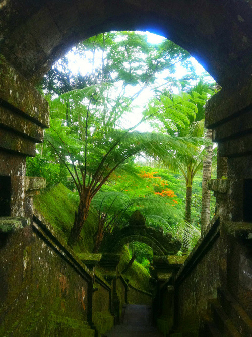 bluepueblo:  Stairway Portal, Bali photo via bklynmed  galaxy06: