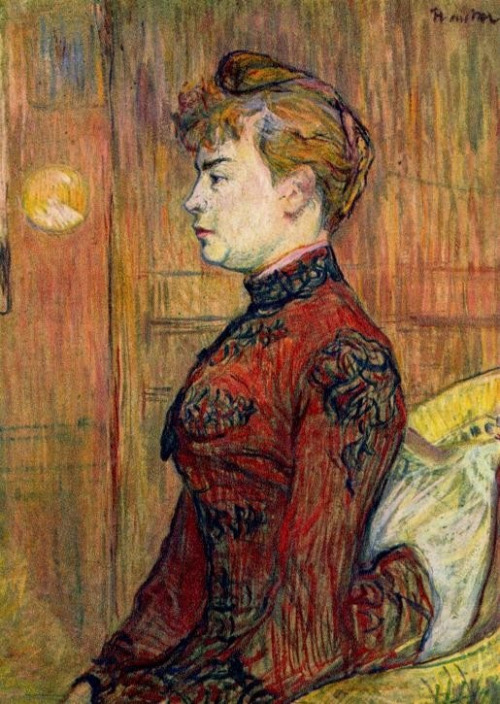 """The Policeman's Daughter"" 1890 Cardboard, 67 x 50 cm Hamburger Kunsthalle, Hamburg, Germany"