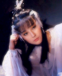 Pan Yin-tze (潘迎紫) in 神鵰俠侶 (The Children of the Condor Heroes), 1984
