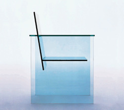 ianborthwick:  Shiro Kuramata, Glass Chair (1976)