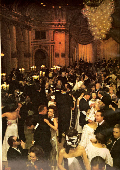 Truman Capote's Black and White Ball, Vogue 1967
