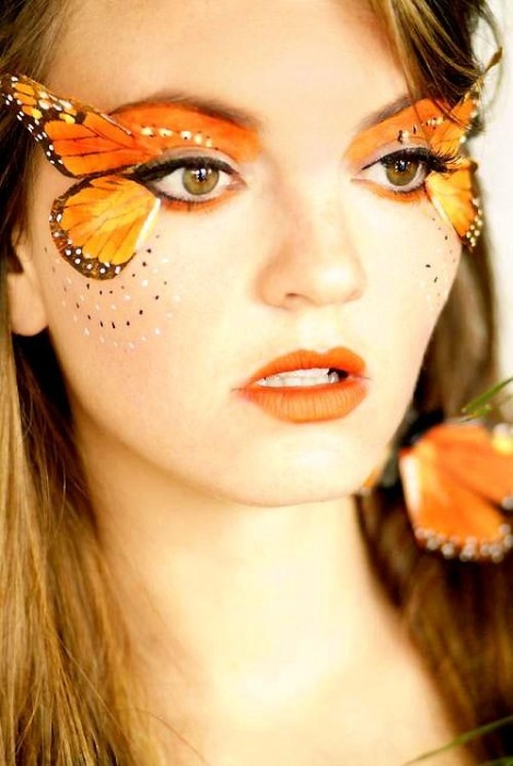Butterfly Makeup On Tumblr