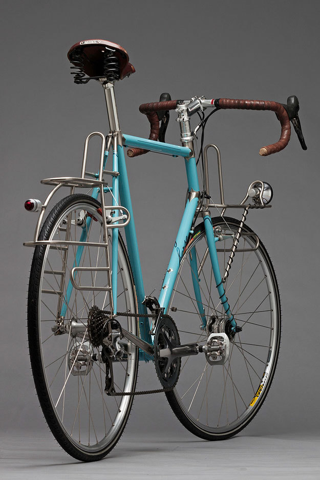 bsandw:  Horse Cycles Stainless Tourer (vía Cycleexif)