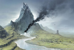 The Lonely Mountain by ~joelhustak