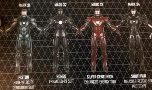 bryannotbrian:  Iron Man Suits Mark 5-42