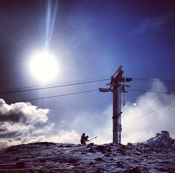 Went skiing today, and I snapped a few shots on my phone. Follow my Instagram if you want to. I update more regularly from there!