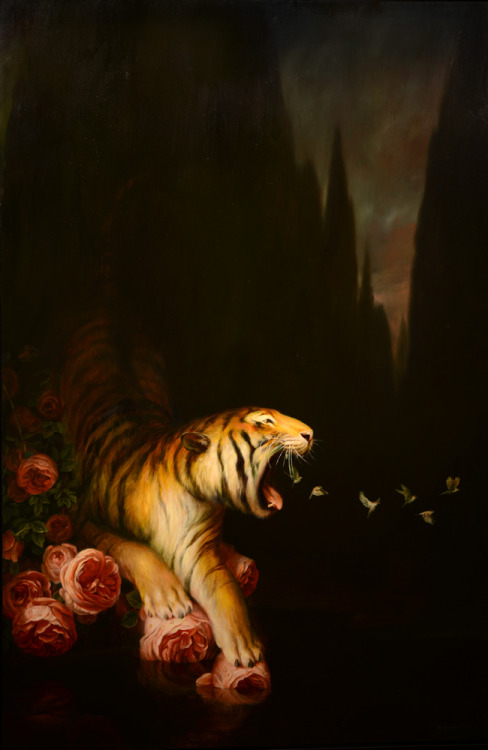 garabating:  Nocturne by Martin Wittfooth