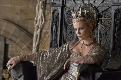 charlize theron, snow white & the huntsman.