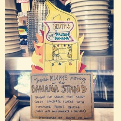 There's always money in the  banana stand. #arresteddevelopment #sotasty (at Ample Hills Creamery)