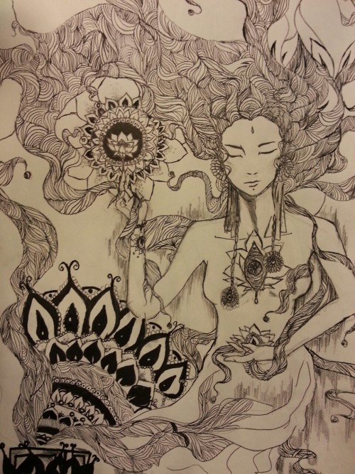 "lotusunfurled:  ""Pandora"" By: lotusunfurled.tumblr.com"