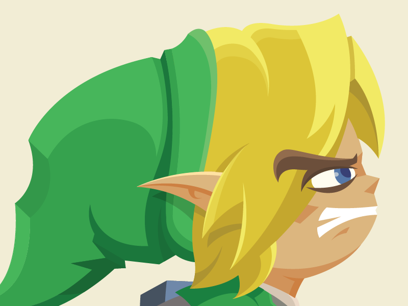 otlgaming:  WIND WAKER By Joseph Le. (via dotcore)